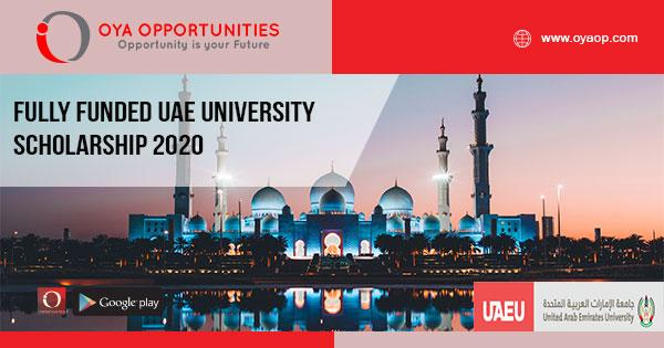 Fully Funded UAE University Scholarship 2020