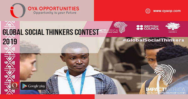 Global Social Thinkers Contest 2019
