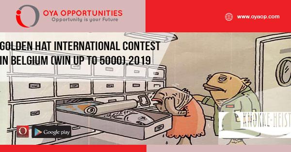 Golden Hat International Contest in Belgium (win up to 5000),2019