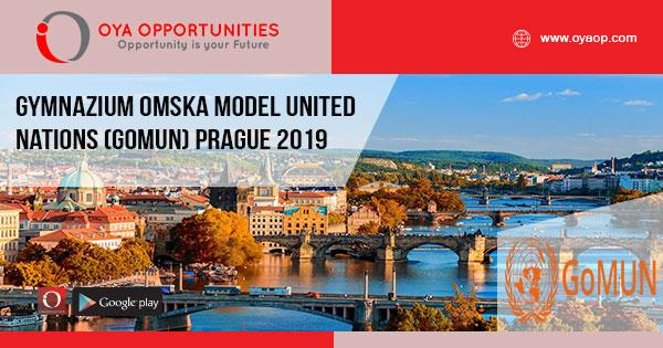 Gymnazium Omska Model United Nations (GOMUN) Prague 2019