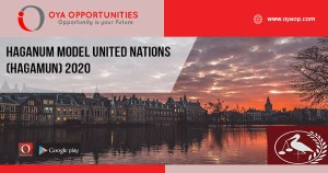 Haganum Model United Nations (HagaMUN) 2020