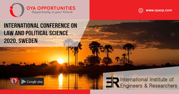 International Conference on Law and Political Science 2020