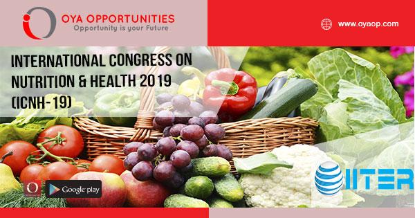 International Congress on Nutrition & Health 2019(ICNH-19)