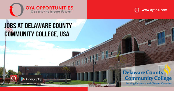 Jobs at Delaware County Community College