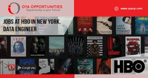 Jobs at HBO in New York, Data Engineer
