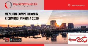Menuhin Competition in Richmond, Virginia 2020