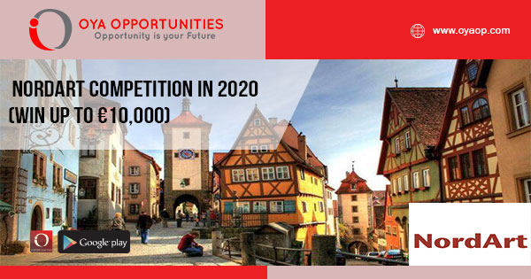 NordArt competition in 2020 (Win up to €10,000)