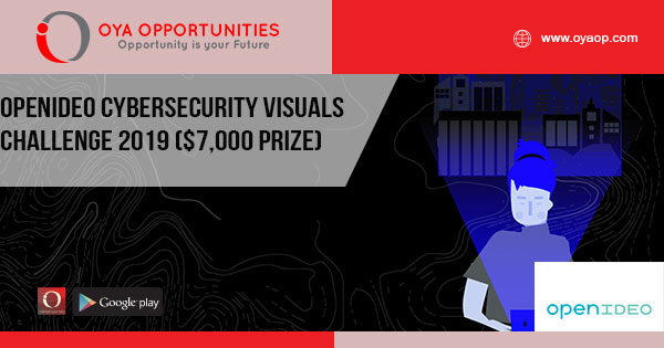 OpenIDEO Cybersecurity Visuals Challenge 2019 ($7,000 prize)