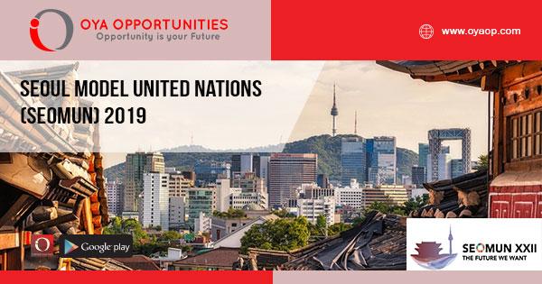 Seoul Model United Nations (SEOMUN) 2019