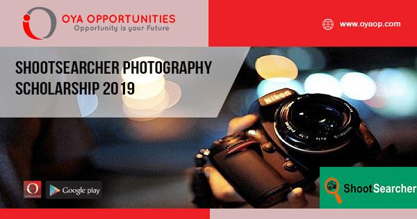 ShootSearcher Photography Scholarship 2019