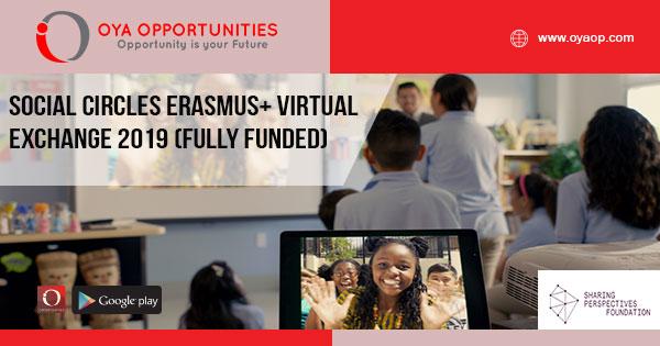 Social Circles Erasmus+ Virtual Exchange 2019 (Fully Funded)