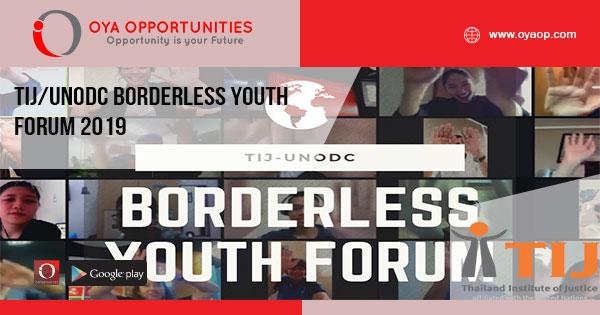 TIJ/UNODC Borderless Youth Forum 2019