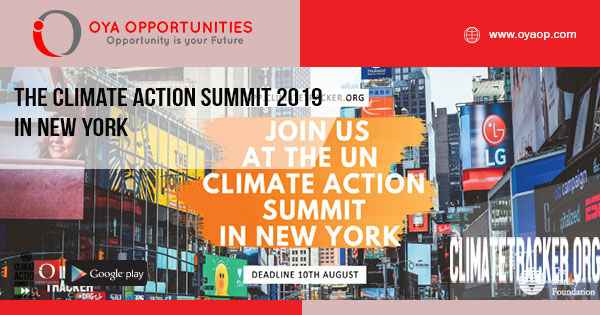 The Climate Action Summit 2019 in New York