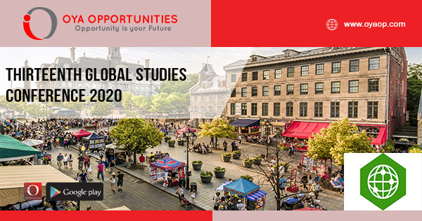 Thirteenth Global Studies Conference 2020