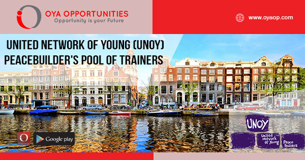 United Network of Young (UNOY) Peacebuilder's Pool of Trainers