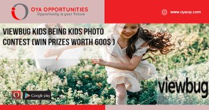 Viewbug Kids Being Kids photo contest (Win prizes worth 600$ )