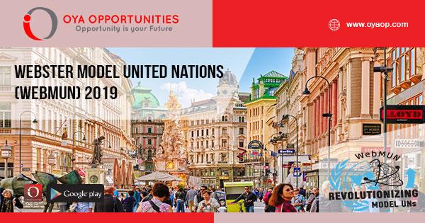 Webster Model United Nations (WebMUN) 2019