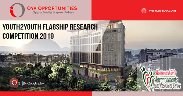Youth2Youth Flagship Research Competition 2019