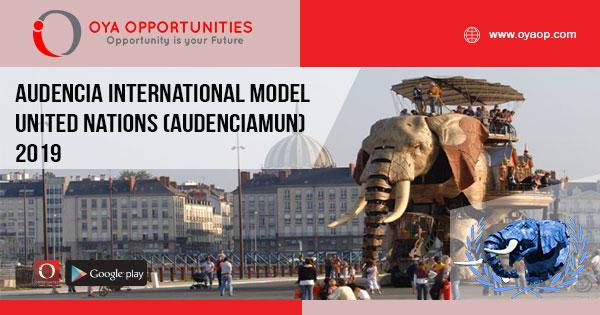 Audencia International Model United Nations (AudenciaMUN) 2019