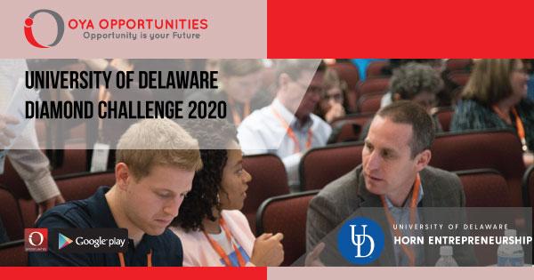 University of Delaware Diamond Challenge 2020