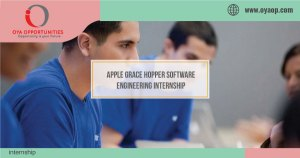 Apple Grace Hopper Software Engineering Internship