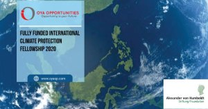 Fully Funded International Climate Protection Fellowship 2020