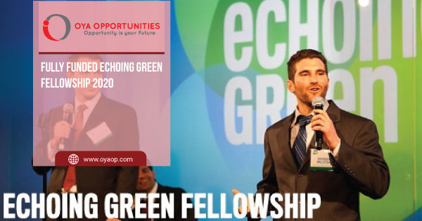 Fully Funded Echoing Green Fellowship 2020