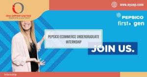 Pepsico eCommerce Undergraduate Internship