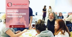 Erasmus Young Entrepreneurs Exchange Program 2019/2020