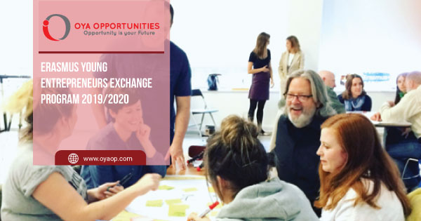 Erasmus Young Entrepreneurs Exchange Program 2019/2020