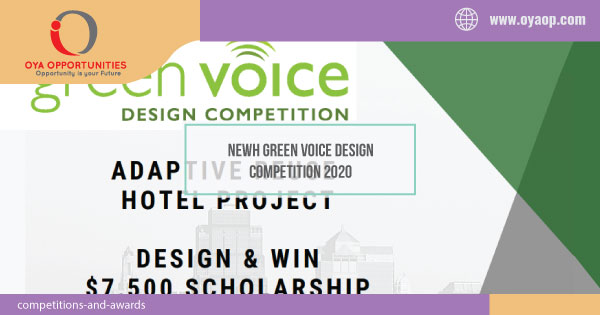 NEWH Green Voice Design Competition 2020
