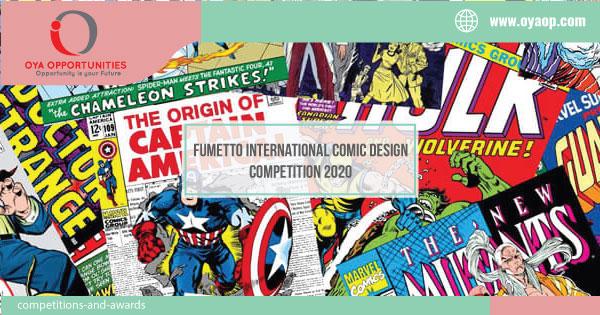 Fumetto International Comic Design Competition 2020
