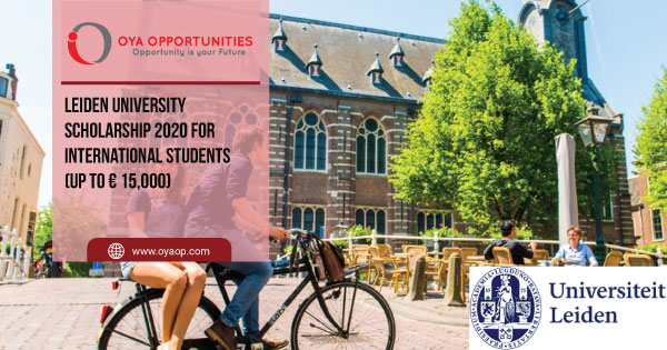 Leiden University Scholarship 2020 for International Students (up to € 15,000)