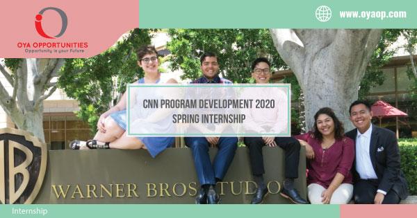 CNN Program Development 2020 Spring Internship