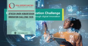 African Union Humanitarian Innovation Challenge 2020
