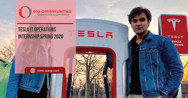 Tesla IT Operations Internship Spring 2020