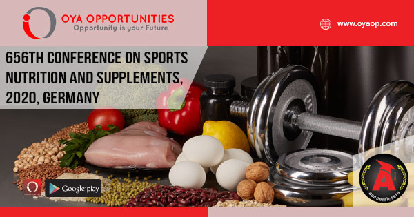 656th Conference on Sports Nutrition and Supplements, Germany