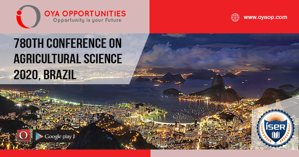 780th Conference on Agricultural and Biological Science, Brazil