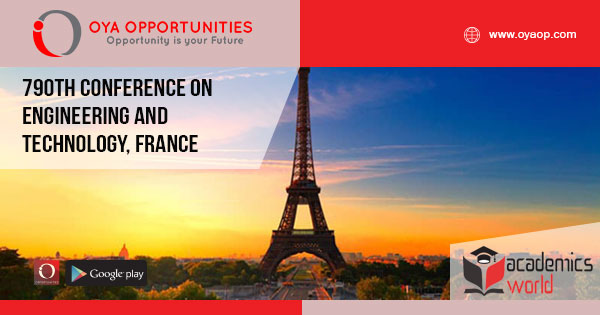 790th Conference on Engineering and Technology, France