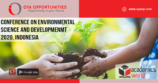 798th Conference on Environmental Science, Indonesia