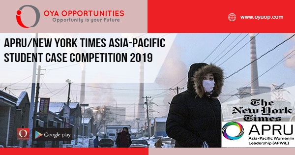 APRU/New York Times Asia-Pacific Student Case Competition 2019