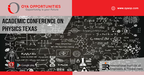 Academic Conference on Physics and Mathematics Texas