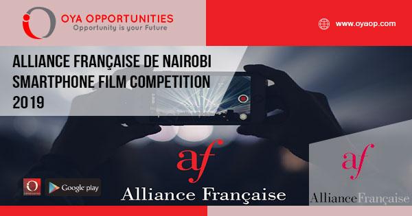 Alliance Française de Nairobi Smartphone Film Competition 2019