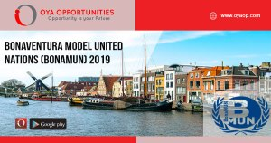 Bonaventura Model United Nations (BonaMUN) 2019
