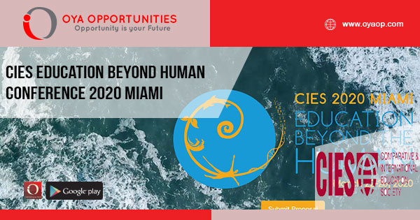 CIES Education Beyond Human Conference 2020 Miami