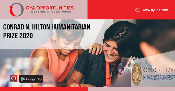 Conrad N. Hilton Humanitarian Prize 2020