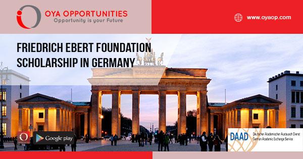Friedrich Ebert Foundation Scholarship in Germany