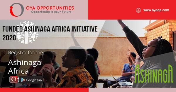 Funded Ashinaga Africa Initiative 2020
