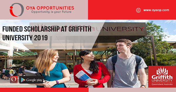 Funded Scholarship at Griffith University 2019