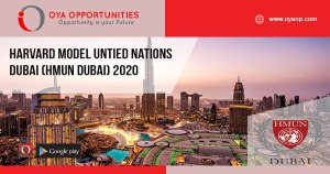 Harvard Model Untied Nations Dubai (HMUN Dubai) 2020